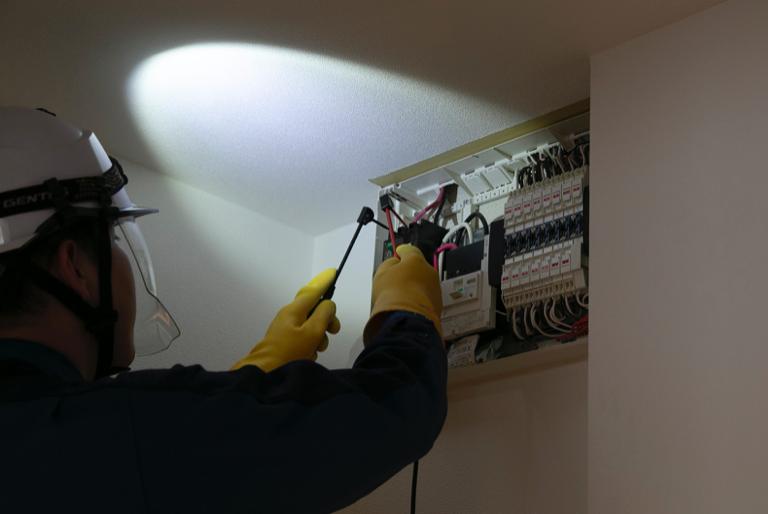 電気の安全点検
